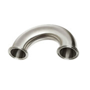 Stainless Steel Tri Clamp 180 Degree Return U Bend Sanitary Fitting