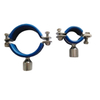 Hygienic Stainless Steel N.B.Pipe Clips with Socket M10 Bossed