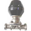 Pneumatic Sanitary Diaphragm Valves with PTFE+EPDM Membrane