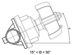 tank bottom diaphragm valve installation