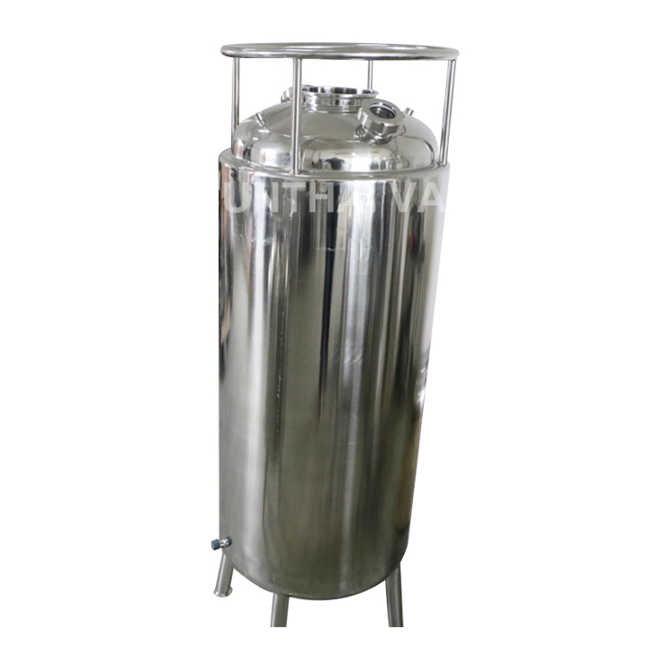 Double Jacketed Solvent Recovery Tank with Cooling Coil Dip Tube