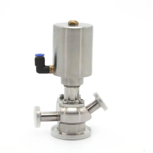 Automatic Pneumatic Aspetic Sampling Valves with Manual Handle