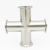 Tri Clamp Cross 4 Way Sanitary Tube Fittings
