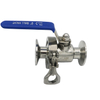 Sanitary Easy Clean Tri Clamp Ball Valve with Quick Connection
