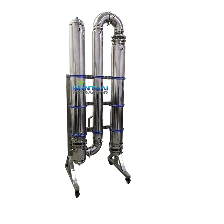 Falling Film Evaporator Ethanol With Heat Exchanger Tube