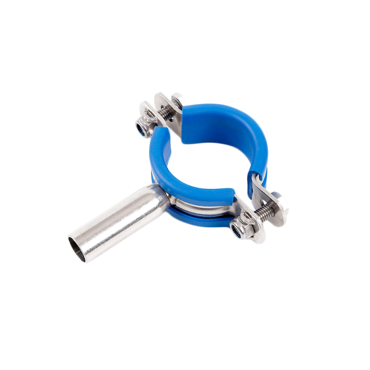 Hygienic Anti Vibration Clips with Stem And Rubber Insert