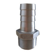 Stainless Steel Hexagon Hose Nipple 150 LBS