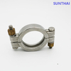 Santiary High Pressure Clamp Double Brass Bolted