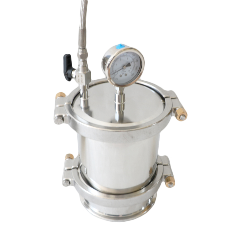 Bho Dewaxing Closed Loop Extractor