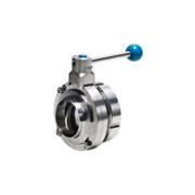 Sanitary Butterfly Valve with Welded/Male End