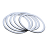 PTFE Envelope Gaskets Tri-Clamp Seal with Viton Filler