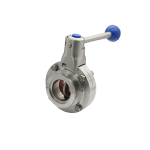 Stainless Steel Vacuum Clamp Butterfly Valve