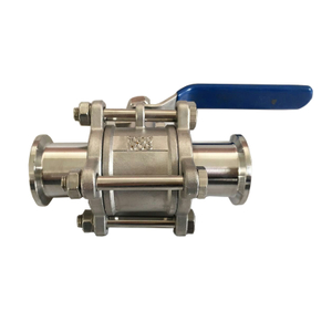 304 Stainless Steel KF Vacuum Ball Valve With Both Sides Flange