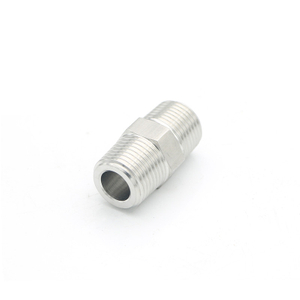 Butt thread NPT Thread 304/316 Stainless Steel Adapter Fittings