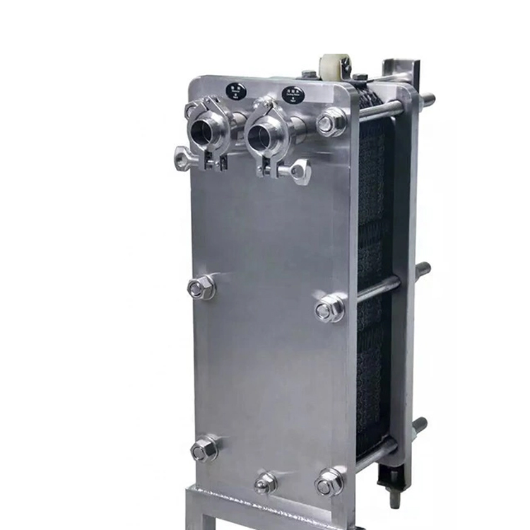 Stainless Steel Plate Heat Exchanger for Milk Pasteurization